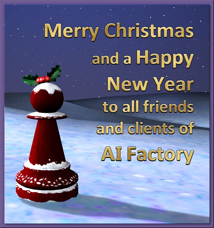 AI Factory's Christmas card 2008
