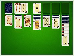 Solitaire screen shot