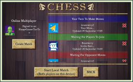 Android Chess multiplayer screenshot