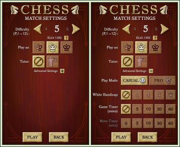 Android Chess screenshots