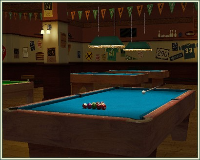 3D Pool screen shot