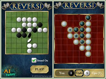 Android Reversi Free screen shots